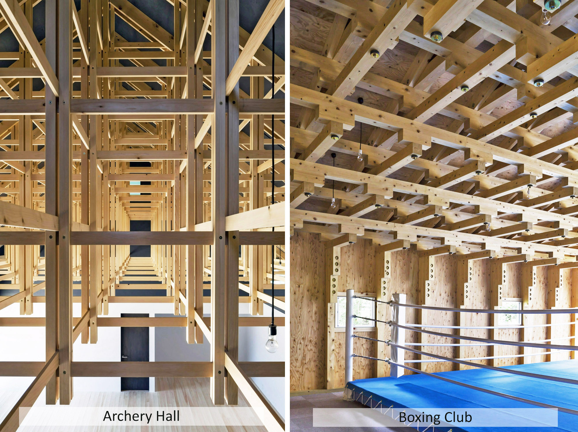 Archery hall & Boxing club - FT architects
