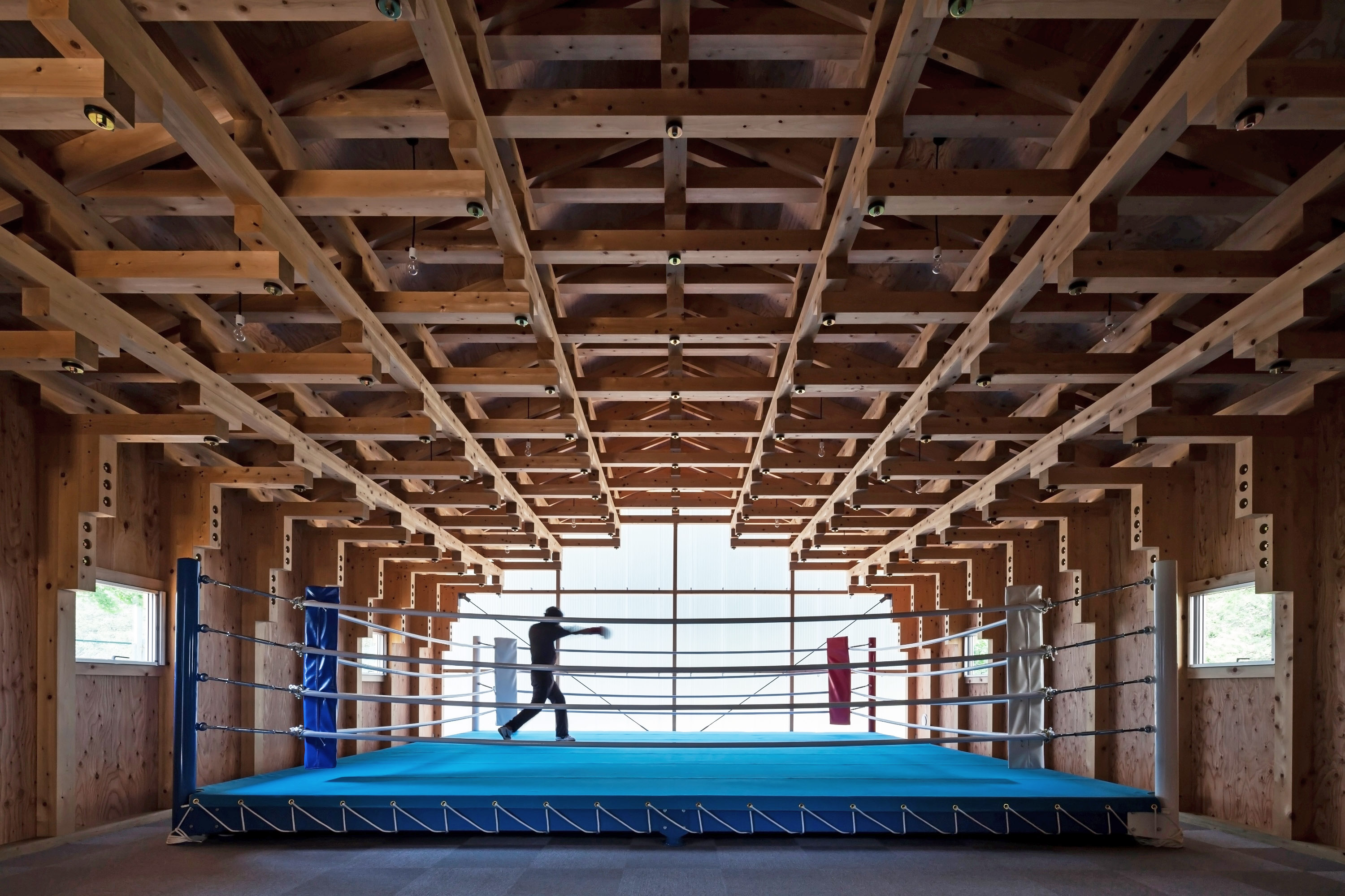 Boxing Club - FT Architects : veduta d'insieme