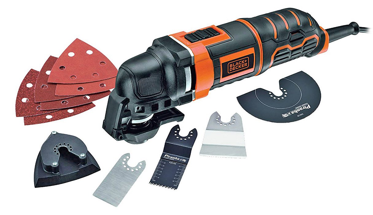 Black+Decker multitool multifunzione oscillante